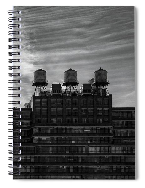 New York Water Towers Spiral Notebook