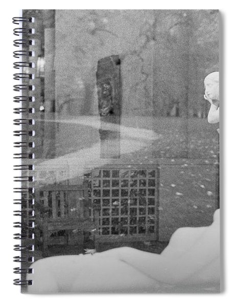 Nyc Whispering Statues Spiral Notebook