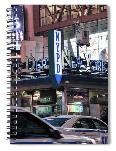 Nypd Station Spiral Notebook
