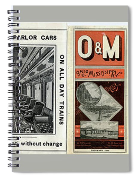 O And M Timetable Spiral Notebook