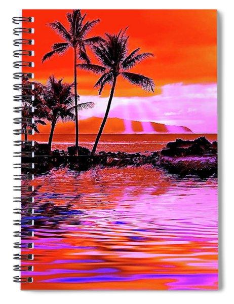 Oahu Island Spiral Notebook