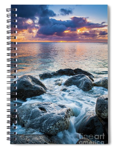 Oahu Shoreline Spiral Notebook