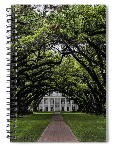 Oak Alley Plantation, Vacherie, Louisiana Spiral Notebook