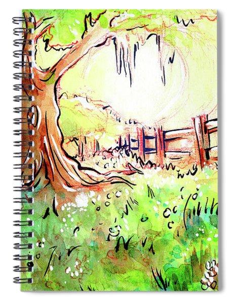Oak Tree Hill Spiral Notebook