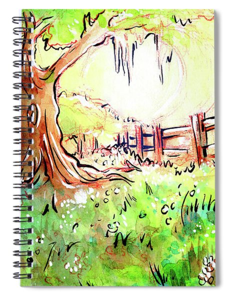 Oak Tree Hill Spiral Notebook