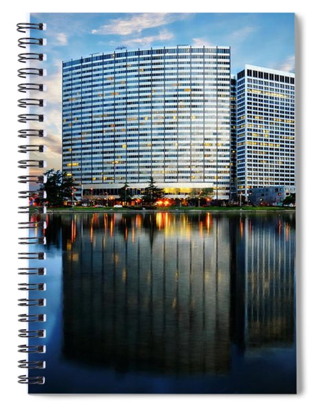 Oakland, California Cityscape Spiral Notebook