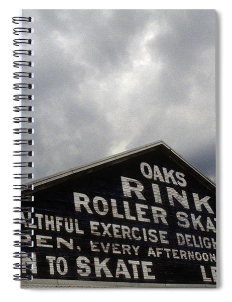 Oaks Skating Rink Spiral Notebook