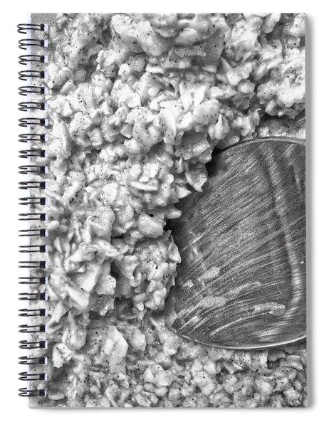 Oatmeal Spiral Notebook