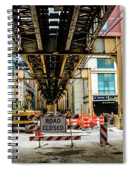 Obey The Signs Spiral Notebook