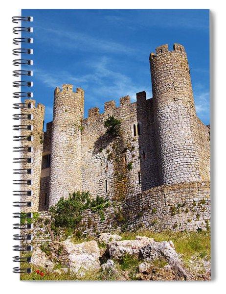 Obidos Castle Spiral Notebook