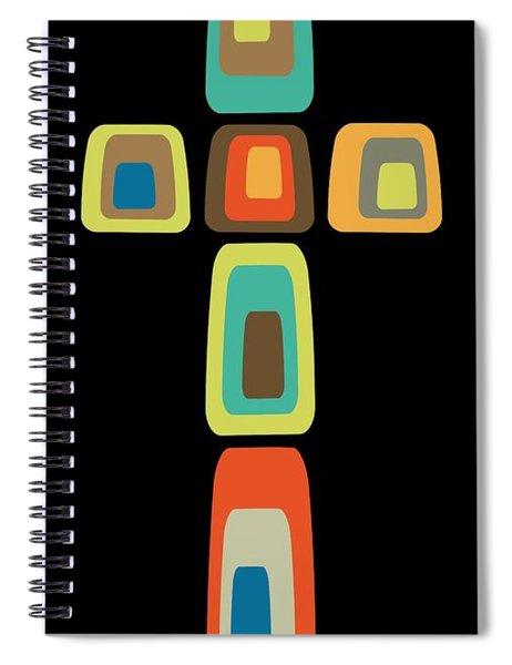 Oblong Cross Spiral Notebook