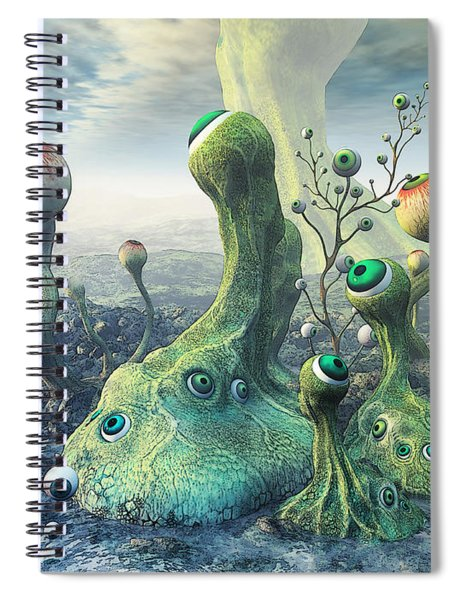 Observation Spiral Notebook