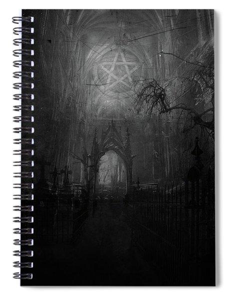 Occult Spiral Notebook