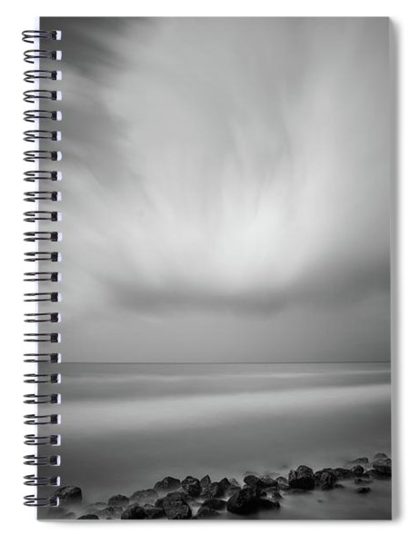 Ocean And Clouds Spiral Notebook