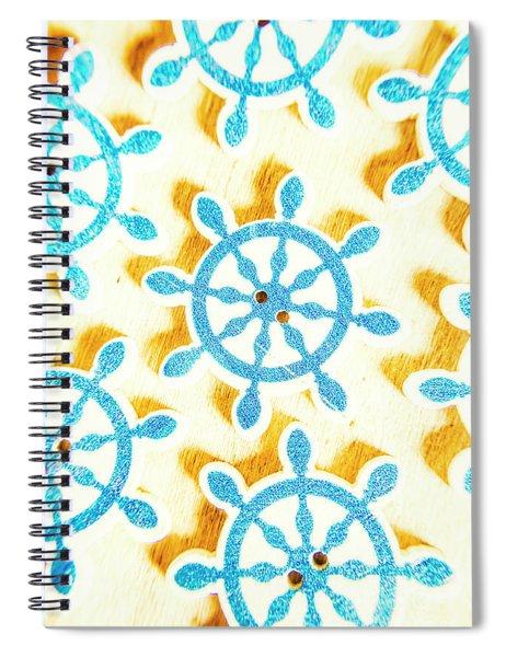 Ocean Circles Spiral Notebook