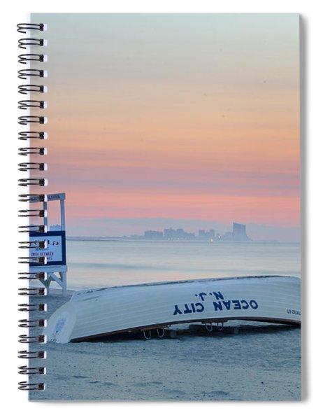 Ocean City New Jersey Before Sunrise Spiral Notebook