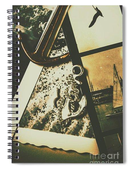 Ocean Cruise Nostalgia Spiral Notebook