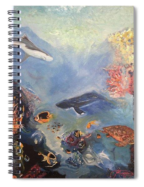 Ocean Spiral Notebook