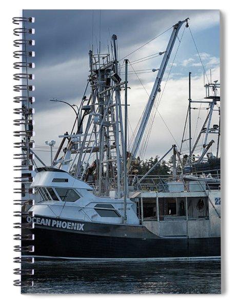 Ocean Phoenix Spiral Notebook