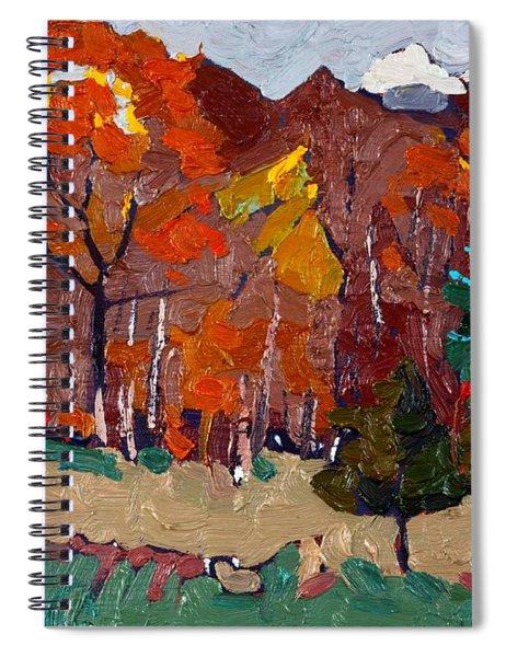 October Forest Spiral Notebook