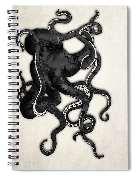 Octopus Spiral Notebook