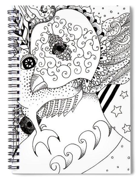Odd 1 Spiral Notebook