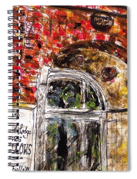 Odd Fellows, Cape Cod Spiral Notebook