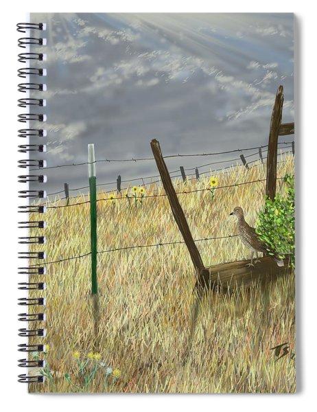 Odd Post Spiral Notebook