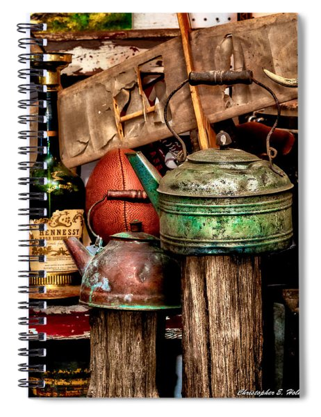 Odds And Ends Spiral Notebook