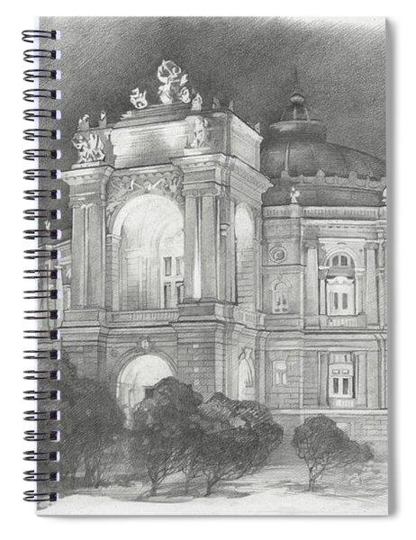 Odessa Theater  Spiral Notebook