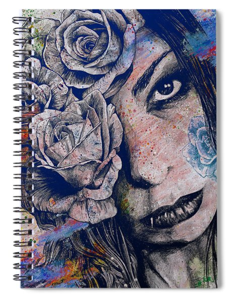 Of Blue Suffering Spiral Notebook