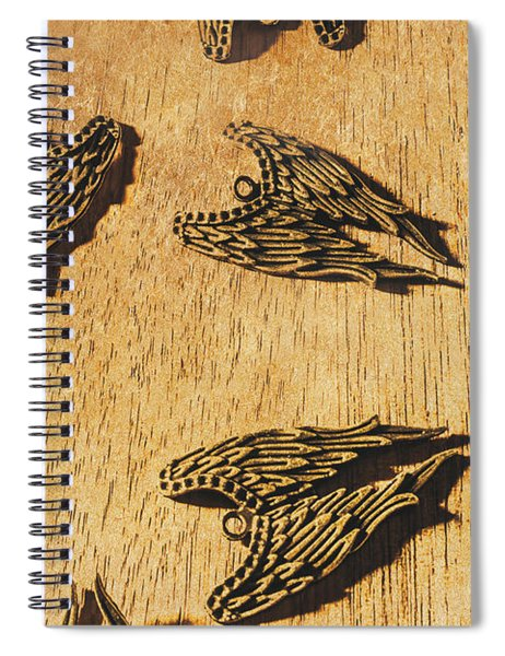 Of Devils And Angels Spiral Notebook