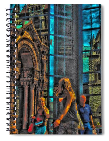 Of Light And Mirrors Spiral Notebook