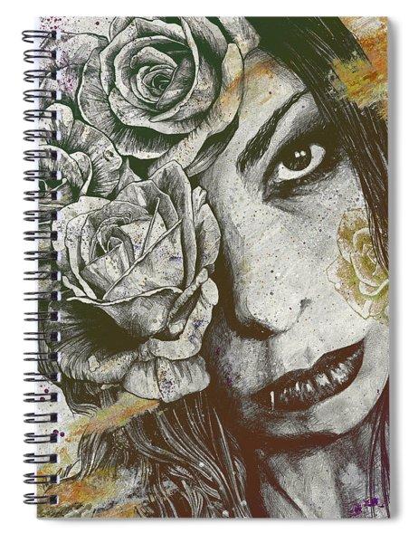 Of Suffering - Autumn Spiral Notebook