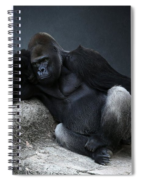 Off Duty Gorilla Spiral Notebook