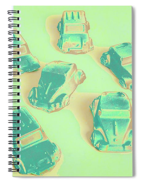 Off Road Retro Rally  Spiral Notebook