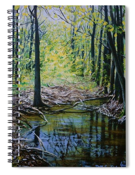 Off The Trail Spiral Notebook