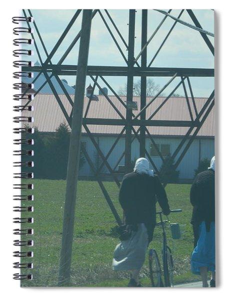 Off To Shop Spiral Notebook