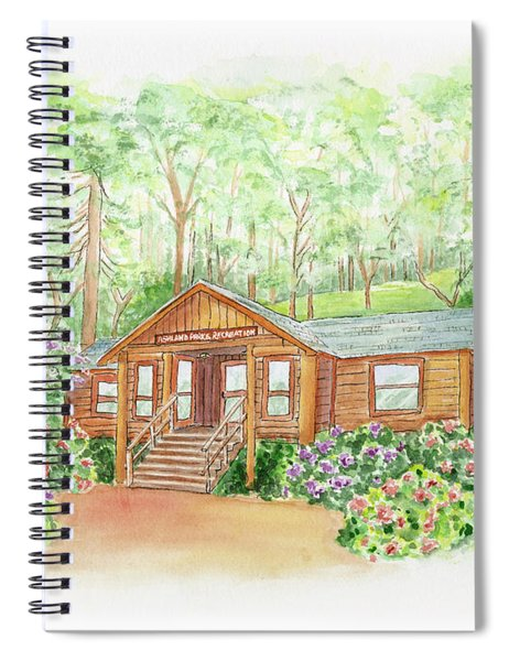 Office In The Park Spiral Notebook