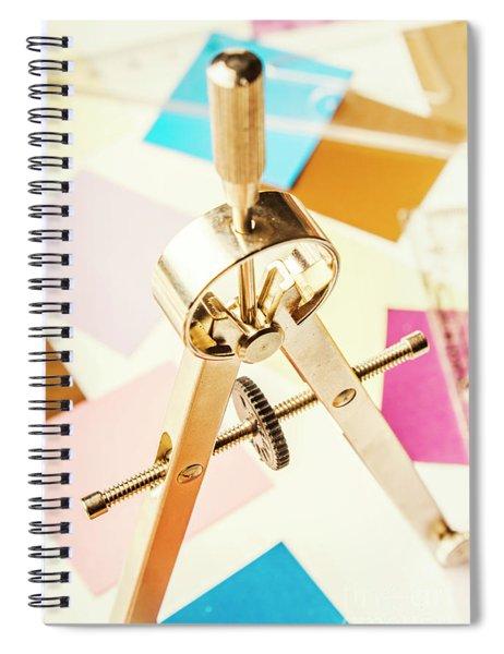 Office Plan Draft Spiral Notebook