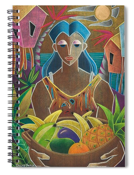 Ofrendas De Mi Tierra Spiral Notebook
