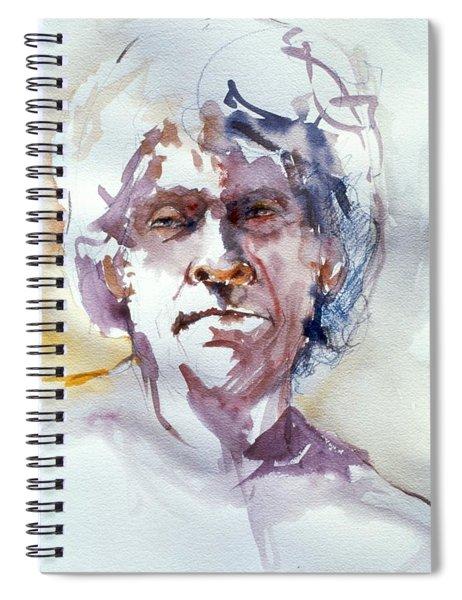 Ogden Head Study 1 Spiral Notebook