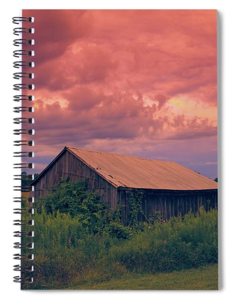 Oh Glorious Morning 2 Spiral Notebook