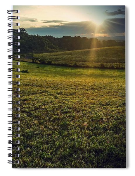 Oh What A Beautiful Morning Spiral Notebook