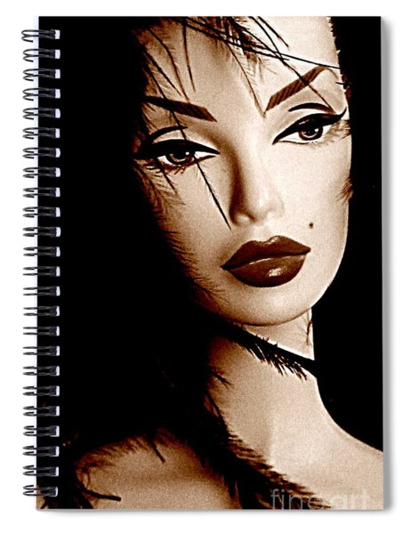 Oh What A Doll Spiral Notebook