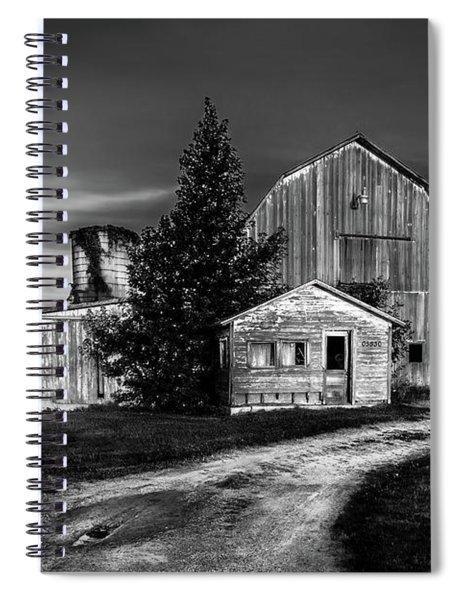 Ohio Barn At Sunrise Spiral Notebook