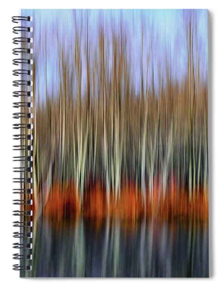 Oil Painting Reflection Spiral Notebook
