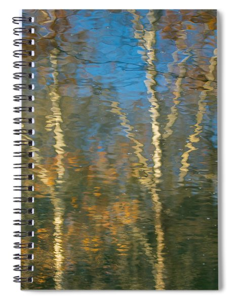 Oil Painting Trees Spiral Notebook