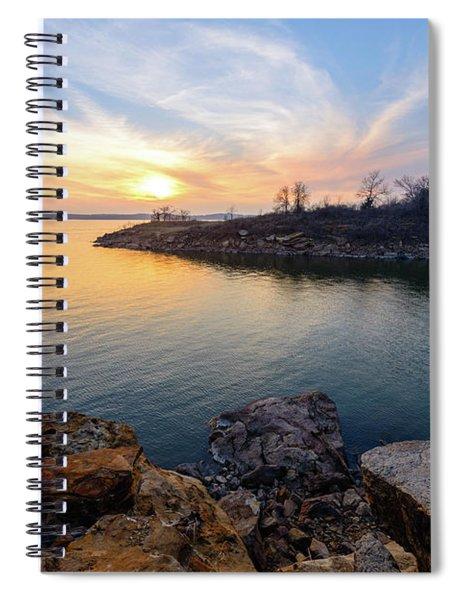 Oklahoma Gold Spiral Notebook