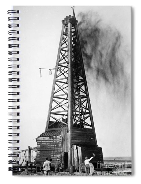 Oklahoma: Oil Well, C1922 Spiral Notebook